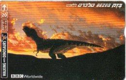 Dinosaure Dinosaurs Animal Télécarte Israël Phonecard W258 - Israel