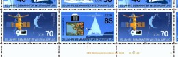 Gagarin 25 Jahre Raumflug 1986 DDR 3005/8 KB FN 5 ** 35€ Mit 3007 I Flug S.Jähn Hoja Bloc M/s Space Sheet Bf GDR Germany