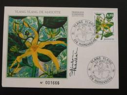 Carte Maximum Card Ylang Ylang Mayotte 1997 - Covers & Documents