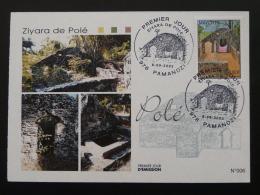 Carte Maximum Card Ziyara De Polé Mayotte 2003 - Brieven En Documenten