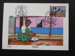 Carte Maximum Card Noix De Coco Coconut Food Mayotte 2006 - Covers & Documents