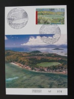 Carte Maximum Card Lac Dziani Mayotte 2001 - Brieven En Documenten