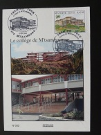 Carte Maximum Card Collège De Mtzamboro Mayotte 2003 - Brieven En Documenten