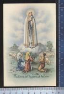 338/478   CPA CARTOLINA RIPRODUZIONE  MADONNA DEL ROSARIO DI FATIMA - Vierge Marie & Madones