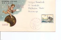 Japon -Semaine De La Lettre écrite ( FDC De 1959 à Voir) - FDC
