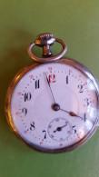 Präzisions Anker Anti  Magnetique Pocket Watch, Not Working, Inside Mark: Syma - Horloge: Zakhorloge