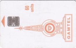 Gambia, GAM-D4B, 60 Units, Logo - Orange, 2 Scans.  Chip SC7