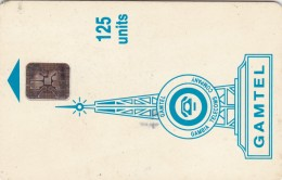 Gambia, GAM-D5A, 125 Units, Logo - Blue, 2 Scans.  No Hole, CN : C4C100964