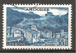 Andorra 1957 - Michel 161 O !!!