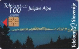 Slovenia, 092c, Julian Alps /ISDN, 2 Scans. - Slovenië