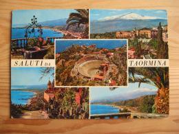 Me1156)  Saluti Da Taormina - Messina