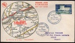 FRANCE - Villandry - FDC