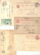 SUISSE SVIZZERA SCHWEIZ SWITZERLAND 19 ENTIERS ENVELOPES INCLUDED A  CARTE POSTALE - Interi Postali