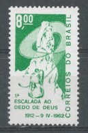 Brazil 1962. Scott #937 (MNH) 50th Anniv. Of The Climbing Of Dedo De Deus - Brésil
