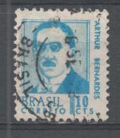 Brazil 1967, Scott #1063 Brazilian President, Arthur Bernardes (U) - Brésil