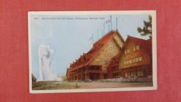 - Wyoming> Yellowstone  Old Faithful Inn & Geyser   ----------- Ref 2236 - Yellowstone