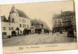 45 MONTARGIS Place Mirabeau  Animée - Montargis