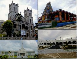 Fiji Island - REligious Buildings In Fiji - Suva Cathedral, Sri Siva Temple & Jaame Mosque (Masjid) In Nadi - Fidschi