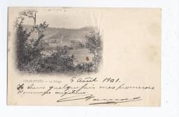 CPA 38 - CHARAVINES - Le Village - TB PLAN D'ensemble Et Vue Générale - CP Voyagée 1901 - Charavines