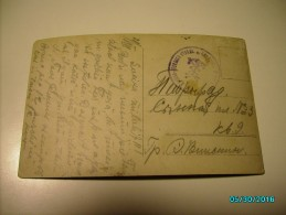 RARE! RUSSIA WW I MILITARY NAVY    FIELD POST STAMP   , OLD POSTCARD ,o - 1857-1916 Empire