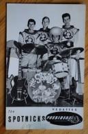 The Spotnicks - Groupe Pop - Rock Suédois Des Années 60 - Discographie Au Dos - Disques Président - (N°6178) - Music And Musicians