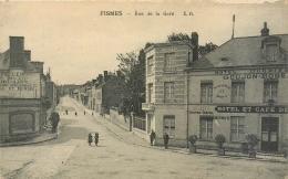 51 Fismes, Rue De La Gare, Hotel Goujon... - Fismes