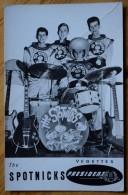 The Spotnicks - Groupe Pop - Rock Suédois Des Années 60 - Discographie Au Dos - Disques Président - Pli - (N°6180) - Music And Musicians