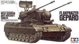 Flakpanzer Gepard West German Anti Aircraft Tank  1/35 ( Tamiya ) - Military Vehicles