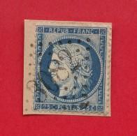 GC 3082 - Randan  -  (Puy De Dôme) Sur Type Cérès 25 Centimes Sur Fragment - Marcophilie (Timbres Détachés)