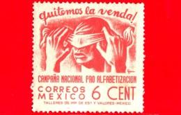 MESSICO - Usato - 1945 - Campagna Di Alfabetizzazione - 6 - Messico