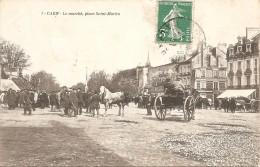 14 Calvados  :  Caen  Le Marché,place Saint-Martin    Réf 1841 - Caen
