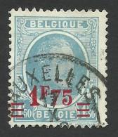 Belgium,  1.75 F. On 1.50 F. 1927, Sc # 194, Mi # 226, Used - 1922-1927 Houyoux