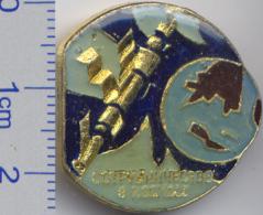 193 Space Soviet Russia Pin. Cooperation In Space. Orbital Complex - Ruimtevaart