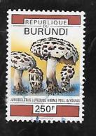 TIMBRE OBLITERE DU BURUNDI DE 1992 N° MICHEL 1755 - Burundi