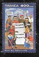 TIMBRE OBLITERE DU RUANDU DE 1999 N° MICHEL 1472 - Rwanda