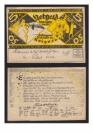 6633- Germany , Deutschland Notgeld Gefangenen Gemeinde In Avignon Weihnachten 1921 – 5 Mark = 50 Ctms - Lokale Ausgaben