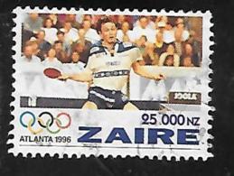 TIMBRE OBLITERE DU ZAIRE DE 1996 N° MICHEL 1128 - Zaïre