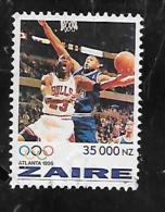 TIMBRE OBLITERE DU ZAIRE DE 1996 N° MICHEL 1129 - Zaïre