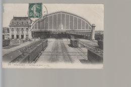 Cpa ,     Bordeaux  La Gare Du Midi     ,    Voyagé - Bordeaux