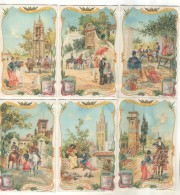 6 Chromos Liebig : Scenes D'Espagne - Liebig