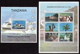 Tanzania 2005.Zanzibar Heritage And Culture. 2 S/S. MNH - Tanzania (1964-...)