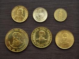 Paraguay 1 Guarani 5, 10, 50 ,100, 500 Guaranies, 1 SET OF 6 COIN EF COIN - Paraguay