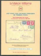 VENTE PUBLIQUE WILLIAME 245, Collection DENEUMOSTIER, 22 Février 2013, Bruxelles, 32 Pages. - Catalogues De Maisons De Vente