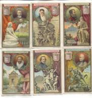 6 Chromos Liebig : Peintres Et Sculpteurs - Liebig