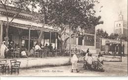 N 971 TUNIS  CAFE MAURE - Tunisia