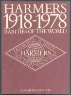 HARMERS Of LONDON, RARITIES Of The WORLD 1918-1978, 8 Novembre 1978, London, 60 Pages.. - Catalogues De Maisons De Vente