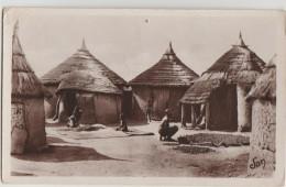 CPA HAUTE VOLTA Séchage Des Noix De Karité 1931 - Burkina Faso