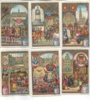6 Chromos Liebig : Anvers Au Moyen Age - Liebig