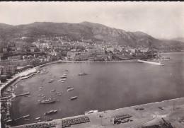 PRINCIPAUTE DE MONACO---vue Panoramique Sur La Condamine Et Monte-Carlo---voir 2 Scans - Harbor