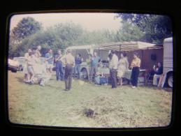 Citroen HY Tub Type H Marché Diapositive Diapo Silde 35mm 24x36 Real Photo 1967 Pique Nique - Automobili